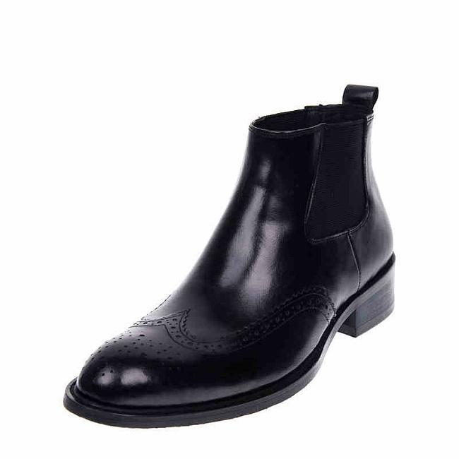 这个秋冬,新郎怎能缺少一双高帮短靴