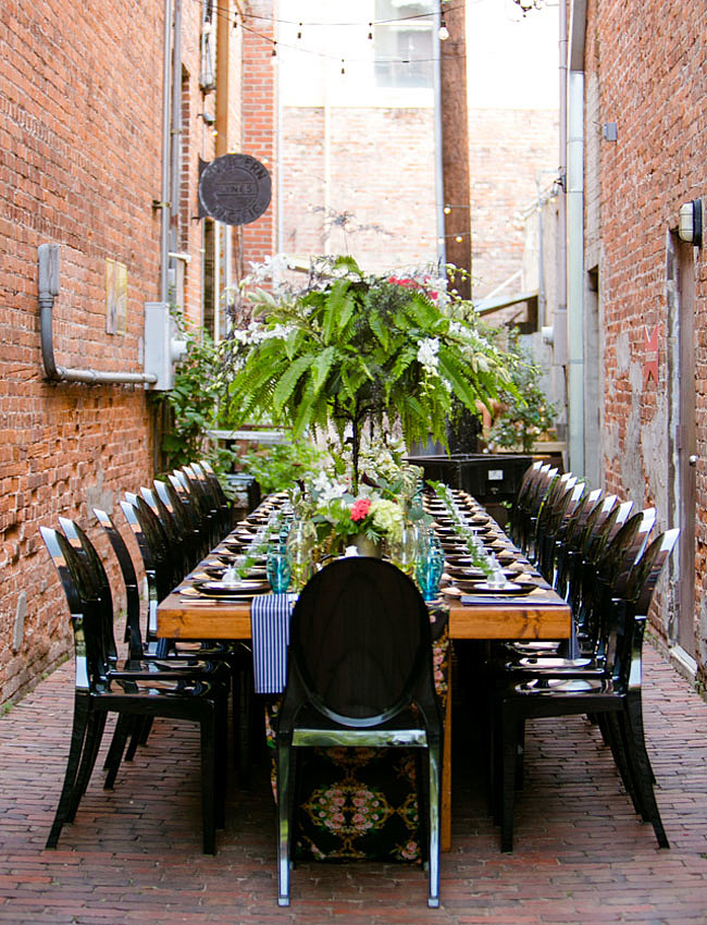 旧式红砖房里的精致做派婚礼